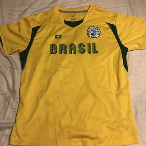 Tops - Brazil Soccer Jersey